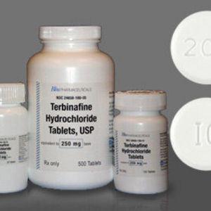Generic Terbinafine 250 mg.