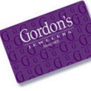 Gordons Jewelers - Gordons Credit Card