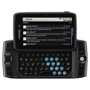 Sharp - Sidekick LX Cell Phone