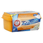 Arm & Hammer Total 2-In-1 Moist Dryer Cloths, Classic Fresh