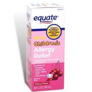 Equate Children's Allergy Liquid