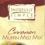 Tastefully Simple Cinnamon Muffin Melt Mix