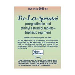 Tri-Lo Sprintec Birth Control Pills