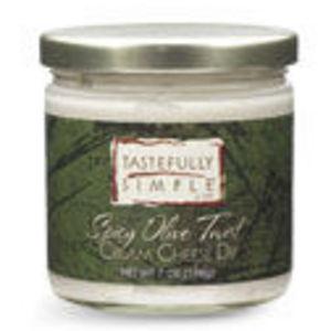 Tastefully Simple Spicy Olive Twist Cream Cheese Dip