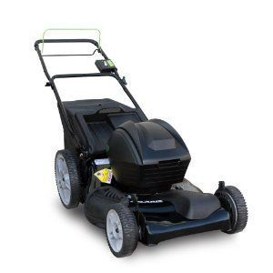 Solaris 21-Inch 24-Volt Cordless Self-Propelled FWD Bag/Mulch/Side Discharge Lawn Mower