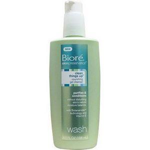 Biore SkinPreservation Clean Things Up Nourishing Gel Cleanser