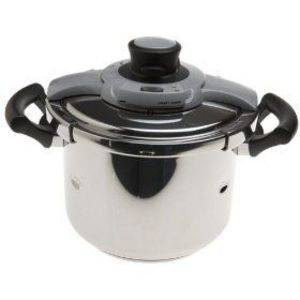 T-Fal 41523200 6-2/5-Quart Speedy-Chef Express Stainless-Steel Pressure Cooker