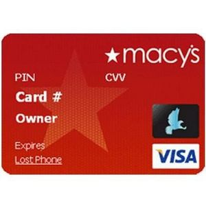 Macy's - Star Rewards Red Credit Card