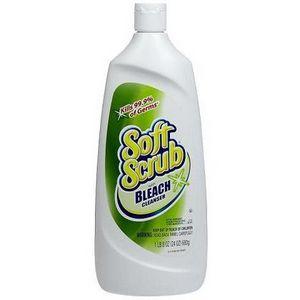 Soft Scrub Cream Cleanser with Bleach