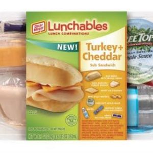 Oscar Mayer Lunchables with Water