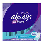 Always Dri-Liners Regular Unscented