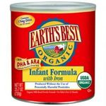 Earth's Best Organic Baby Formula with Iron