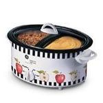 GE 6-Quart Double Bowl Slow Cooker