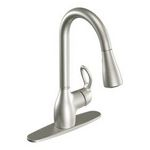 Moen Kleo Classic Stainless One-Handle Pulldown Kitchen Faucet CA87011CSL