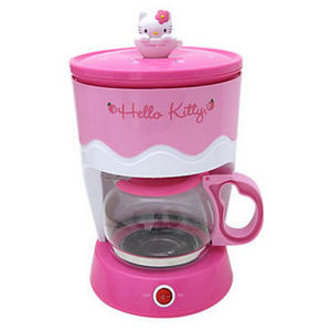 Sanrio Hello Kitty 6-Cup Coffee Maker