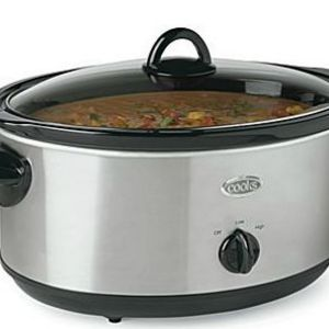 Cooks Cook' N Carry 6-Quart Oval Manual Portable Slow Cooker