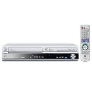 Panasonic (80 GB) DVD Recorder VCR HDD Recorder