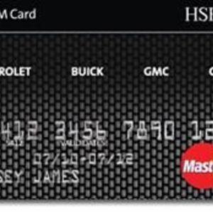 HSBC Bank - GM MasterCard