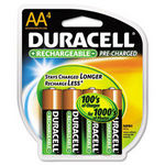 Duracell Pre-Charged Rechargeable AA Batteries - 4 Pack (DX-1500R4)