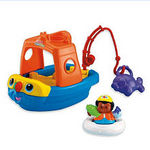 Fisher Price Little People Sail N Float Boat
