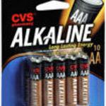 CVS Brand - AA Alkaline Batteries