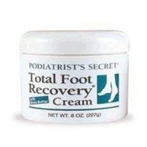 Podiatrist's Secret Total Foot Recovery Cream with Shea Butter
