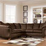 Ashley Furniture Durapella - Cocoa Sectional Sofa