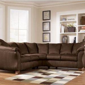 ashley furniture sectional sofas Ashley Furniture Durapella   Cocoa Sectional Sofa Reviews  ashley furniture sectional sofas