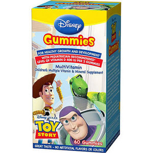 Disney Toy Story Multivitamin Gummies