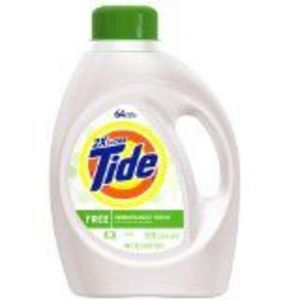 Tide Ultra Free Liquid Laundry Detergent Sensitive Skin