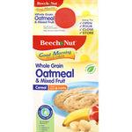 Beech-Nut Good Morning Oatmeal & Mixed Fruit Cereal