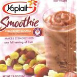 Yoplait Frozen Smoothie Mix - Strawberry Banana