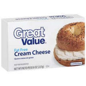 Great Value (Walmart) Fat Free Cream Cheese
