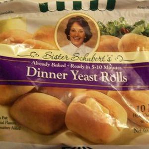 Sister Schubert Dinner Yeast Rolls