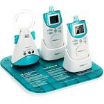 Angelcare Deluxe Movement Sensor and Sound Monitor (Two Units)
