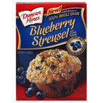 Duncan Hines Blueberry Streusel Muffins