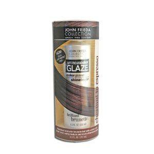 John Frieda Brilliant Brunette Luminous Color Glaze for Chestnut to Espresso