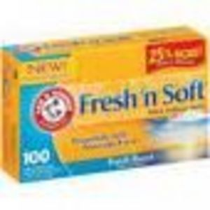 Arm & Hammer Fresh 'n Soft Fabric Softener Sheets