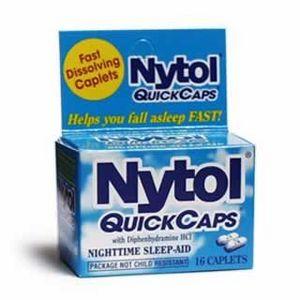 Nytol sleep aid
