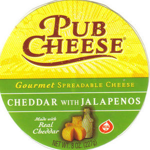 Pub Cheese Cheddar with Jalapenos Cheese Spread