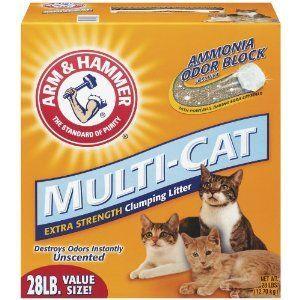 Arm & Hammer Multi-Cat Strength Clumping Litter