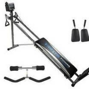Total Gym Power Platinum with Crunch Attachment & Squat Stand