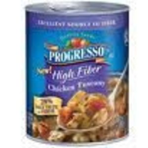 Progresso High Fiber Chicken Tuscany Soup