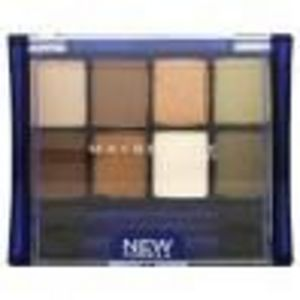 Maybelline Expert Wear Eyeshadow 8 Pan - Sunbaked Neutrals #01