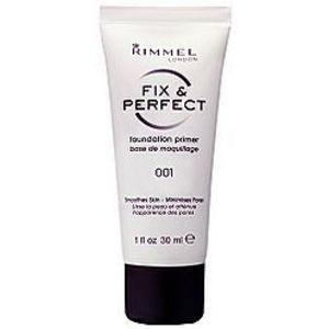 Rimmel London Fix & Perfect Foundation Primer - All Shades