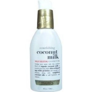 Organix Coconut Milk Self-Heating Coconut Oil