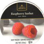 Safeway Select Raspberry Sorbet