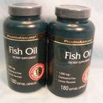 PharmAssure Fish Oil 1000mg Softgel Capsules