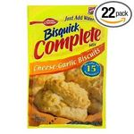 Betty Crocker Bisquick Complete Mix Cheese-Garlic Biscuits