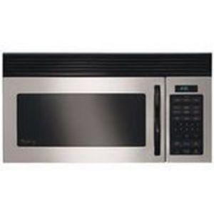 Whirlpool 1000 Watt 1.5 Cu. Ft. Microwave Oven/Hood Combo MH1150XMS